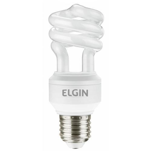 Lâmpada Elgin Fluorescente Espiral 11w 6400k 127v - 48les11wb001