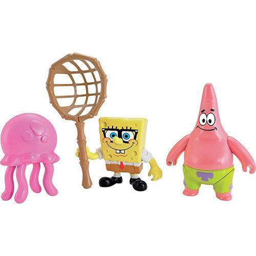Bonecos Imaginext Figuras Básicas Bob Esponja e Patrick Mattel