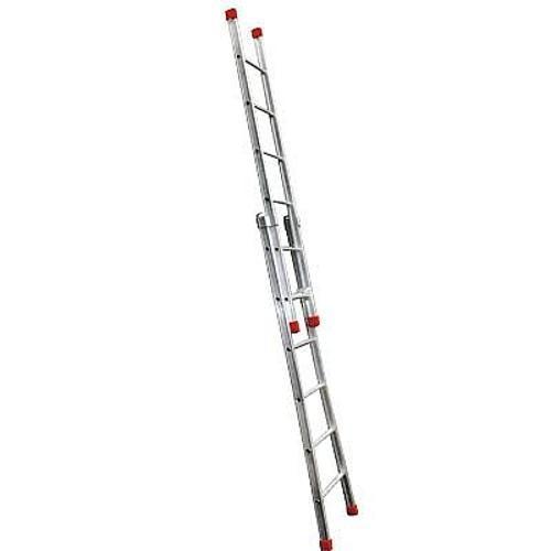 Escada de Alumínio Extensível 2x12 24 Degraus Ee12 Rotterman