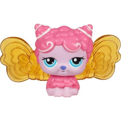 Littlest Pet Shop Fada do Amanhecer Rosa Claro - Hasbro