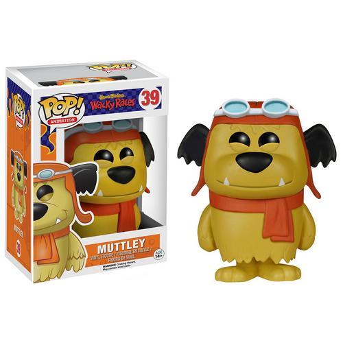 Boneco Muttley Hanna Barbera Wacky Races Animation Funko