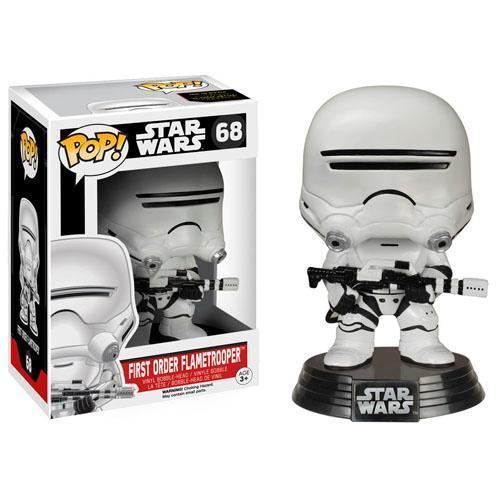 Boneco First Order Flametrooper Star Wars Vii The Force Awakens Funko