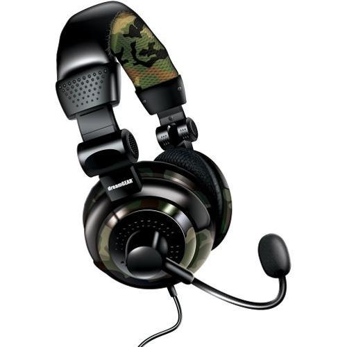 Fone de Ouvido Headset Gamer Ps4/ps3/xbox/wiiu Dreamgear Dgun-2574