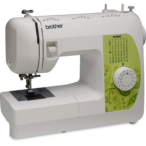 Máquina de Costura Brother Bm2800 27 Pontos Branco - 110v