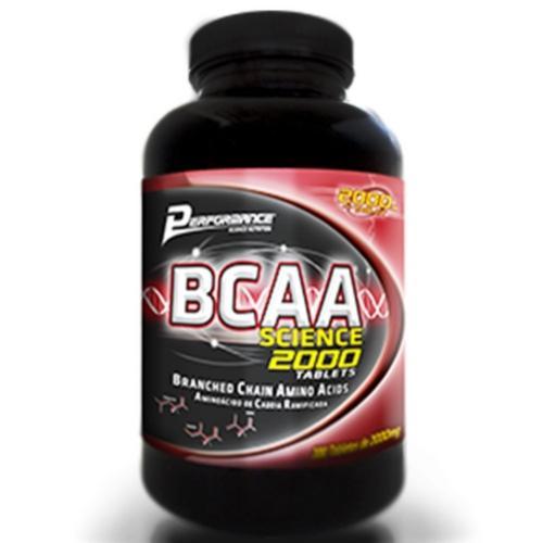 Bcaa Science 2000mg - 100 Tabletes Performance
