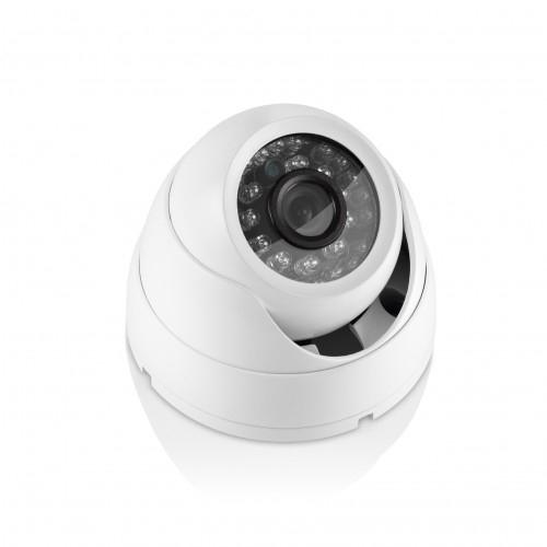 Câmera Multilaser Segurança Dome Metal Branco Multilaser Lente de 3,6 Mm 15m Alcance e Visão Noturna - Se012