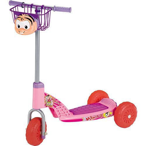 Patinete Magic Toys Mônica Rosa/lilás 4516