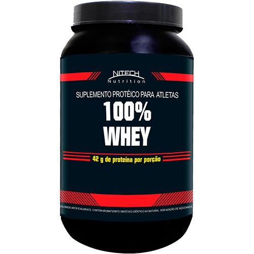 100% Whey 900g Baunilha Nitech Nutrition