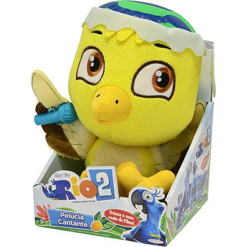 Pelúcia Nico Cantora Rio 2 Sunny Brinquedos