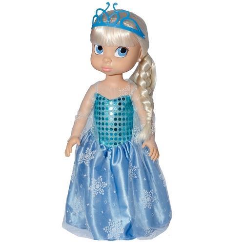 Boneca Princesas da Disney Baby Brink Stephany Girl Princesa Rainha da Neve 1734