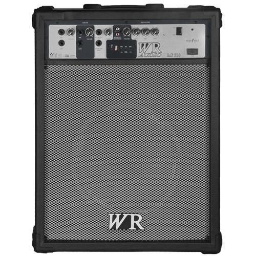 Caixa Acústica Wr Audio Multiuso Amplificada 70 W Rms Rg510