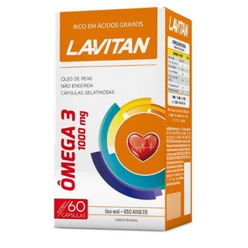 Lavitan Vitaminas Omega3 1000mg - 60caps