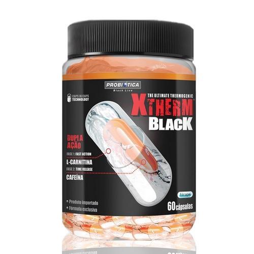 Xtherm Black - 60 Cápsulas Probiotica