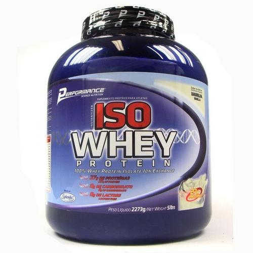 Iso Whey Protein 2,27kg Cookies Performance
