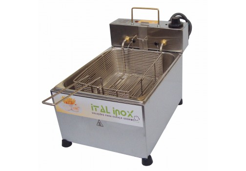 Fritadeira Ital Inox 8l Inox 110v - Feoi