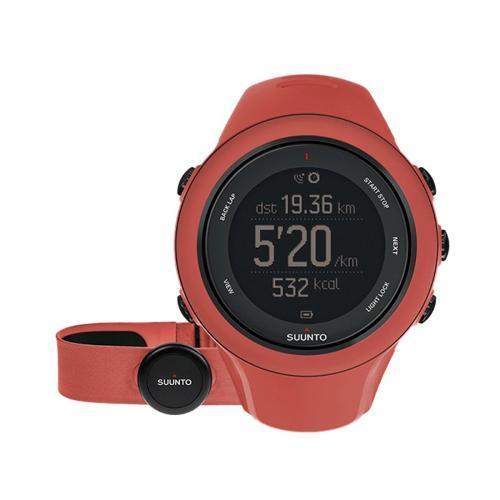 Monitor Cardíaco Relógio Com Cinta Ambit3 Coral Suunto