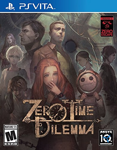 Jogo Zero Time Dilemma - Ps Vita - Aksys Games
