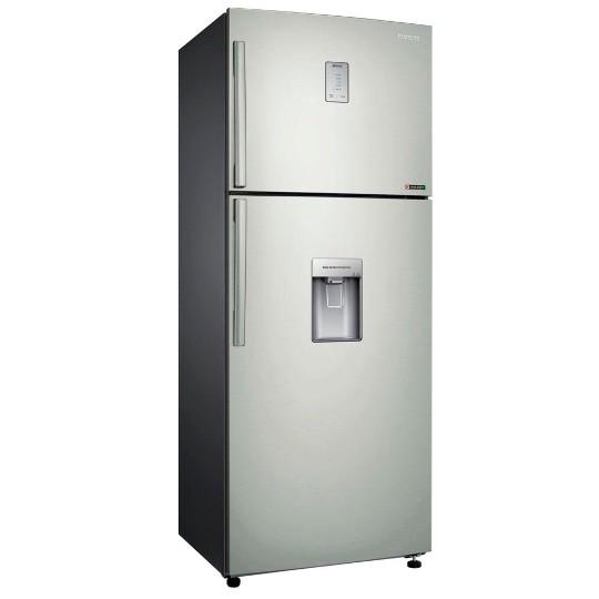 Geladeira refrigerador 458 litros 2 portas inox samsung for Geladeira 2 portas inox