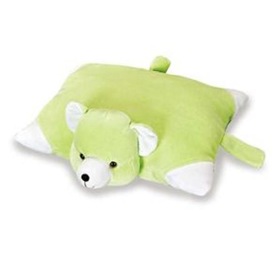Pelúcia Ursinho Verde Anjos Baby