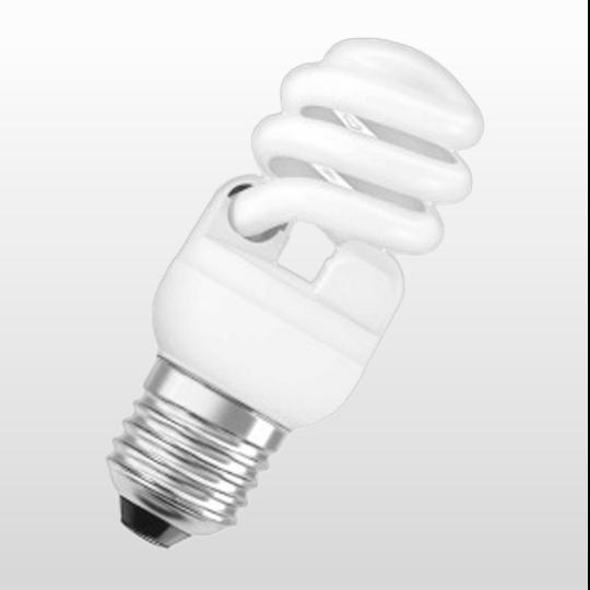 Lâmpada Osram Mini Twist 8w/827 110v - 4052899911796