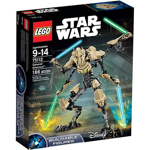 Lego Star Wars General Grevious 186 Peças 75112