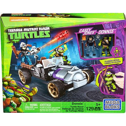Mattel Mega Bloks Tartarugas Ninja Animation Carro Corrida Dmx52