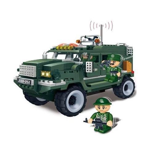 Banbao Veículo Militar 290 Peças