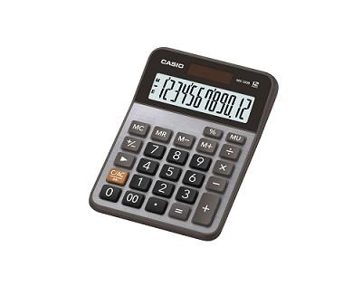 Calculadora de Mesa Básica 12 Dígitos Preta Mx120b Casio