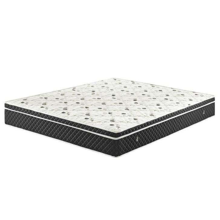Colchão Ecoflex Soft Comfort - Preto 158x198x23cm Casal