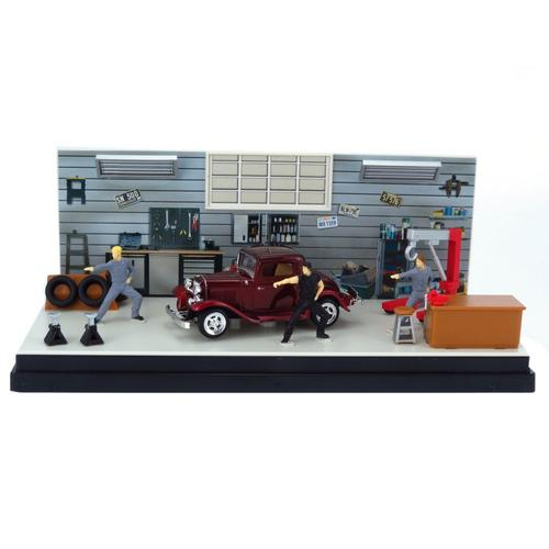 Miniatura Diorama Dream Car Ford Coupe 1932 1:43 Motormax