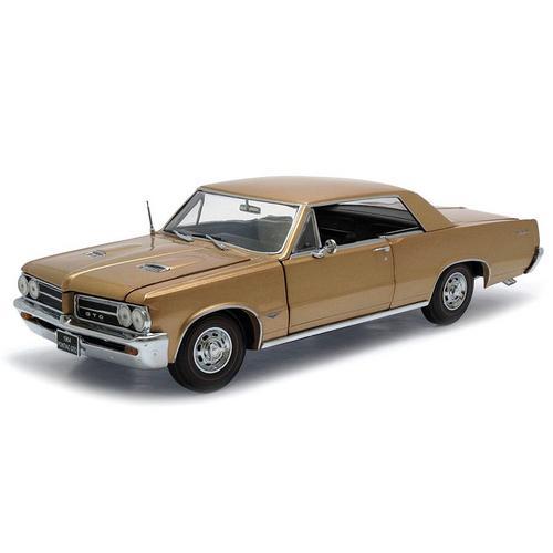 Carrinho Pontiac Gto 1964 1:18 Bronze Sunstar