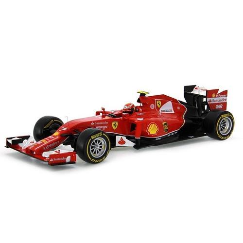 Carrinho Fórmula 1 Ferrari F14 T 2014 Kimi Raikkonen Hot Wheels 1:18 Mattel