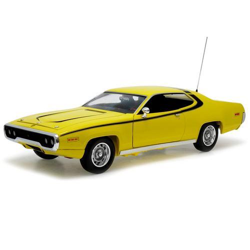 Carrinho Plymouth Satellite 1971 Dukes Of Hazzard os Gatões 1:18 Ertl Amarelo Autoworld