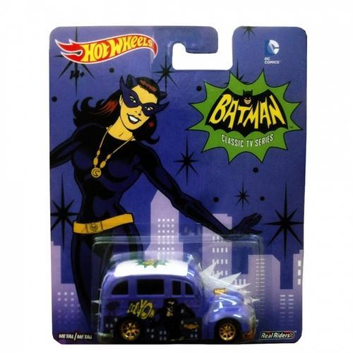 Carrinho Hot Wheels Séries de Tv Batman - Mulher Gato Cfp48 Mattel