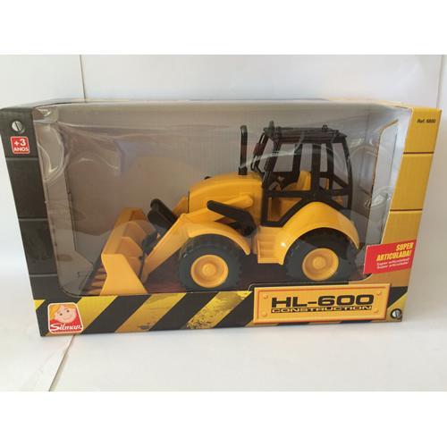Trator Escavadeira Hl-600 Construction Articulada Silmar