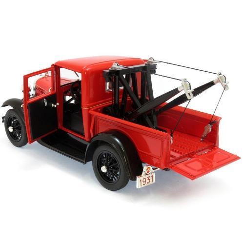 Carrinho Ford Model a 1931 Tow Truck 1:18 Signature