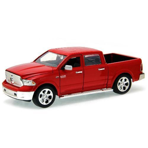 Carrinho Dodge Ram 1500 2014 1:24 Vermelho Jada Toys
