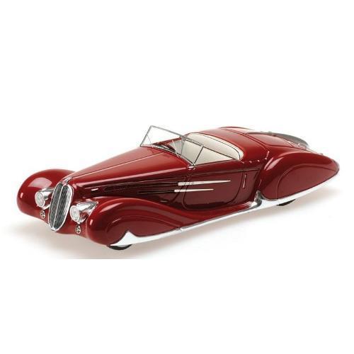 Carrinho Elahaye Type 165 Cabriolet 1939 1:43 Minichamps
