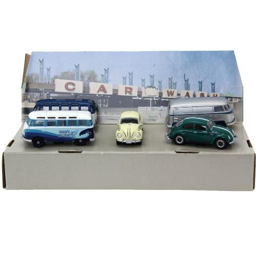 Diorama Volkswagen Car Wash 05 Carros 1:64 Greenlight