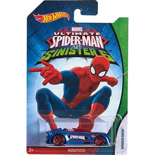 Carrinho Hot Wheels Homem-aranha Mono Posto Djj71 Mattel