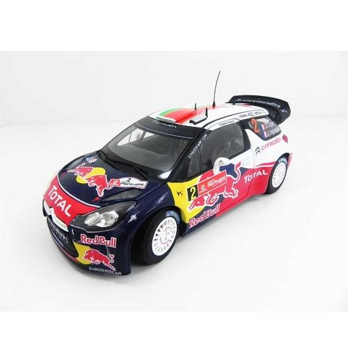 Carrinho Citroën Ds3 Wrc 2011 Winner Rallye Du Portugal 2011 Ogier/ingrassia 1:18 Nor181556 Norev