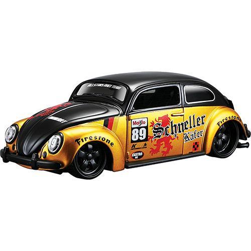 Carrinho Volkswagen Beetle Allstars Escala 1:24 31021 Maisto