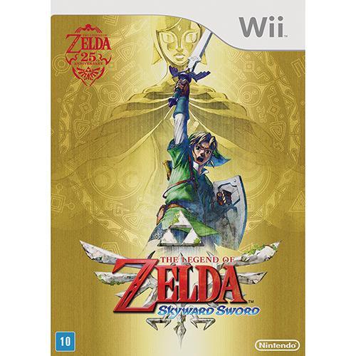 Jogo The Legend Of Zelda - Skyward Sword - Wii - Nintendo