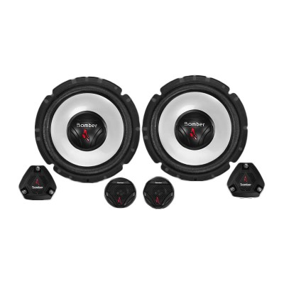 Alto-falante Bomber 100 W Rms Kit Two Way 6