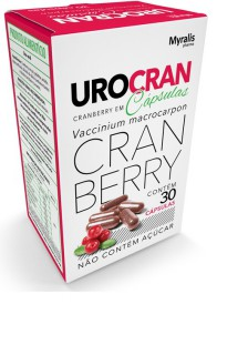 Urocran - 30 Caps 6484500580013 Myralis Pharma