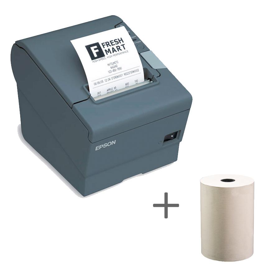 Impressora Térmica Fiscal Epson Tm-t88vp Transferência Térmica Monocromática Usb e Paralela Bivolt