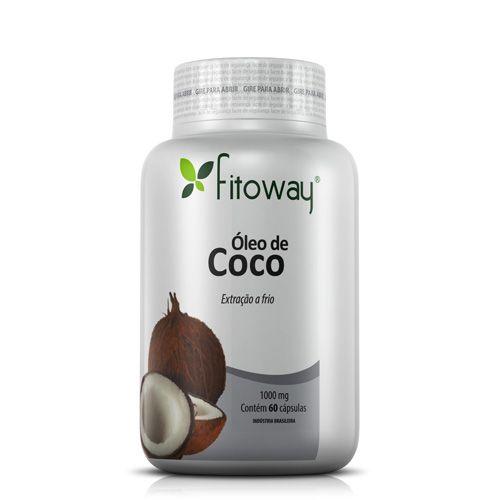 Fitoway Óleo de Coco 60 Cápsulas
