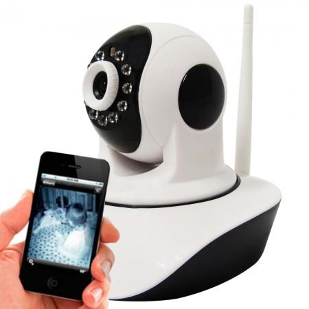 Câmera Power Xl Ip Ir Wireless Visão Noturna para Celular Iphone Android - Ip03ck