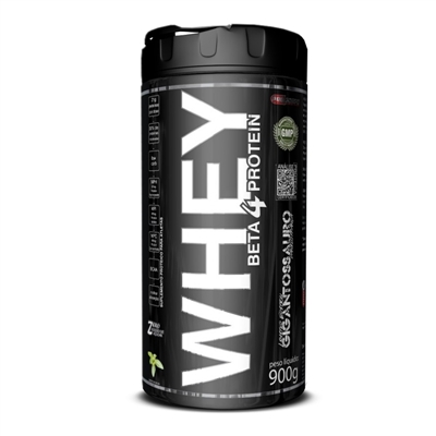 Whey Beta 4 Protein 900g Morango Pro Corps