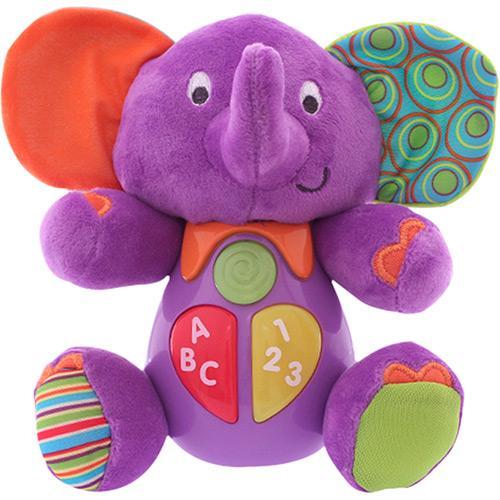 Animais Musicais Elefante Roxo Dican